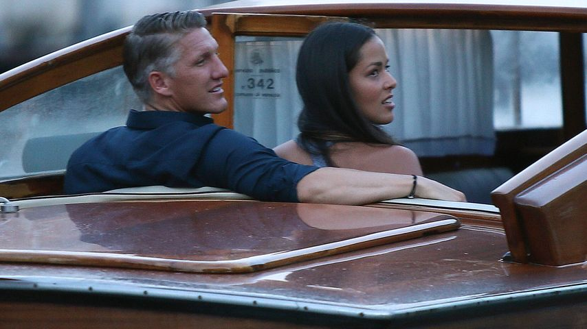 Bastian Schweinsteiger und Ana Ivanovic bei einer Gondelfahrt