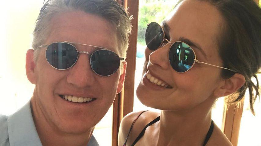 Bastian Schweinsteiger und Ana Ivanovic im Liebesurlaub
