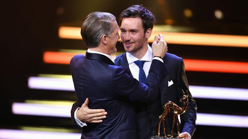 Bastian Schweinsteiger und Felix Neureuther 2016