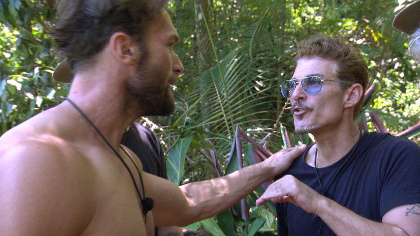 Bastian Yotta und Chris Töpperwien im Dschungelcamp 2019