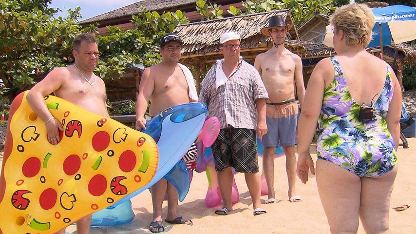 Beate mit ihren Buben in Thailand