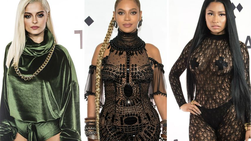 Popo-Show & nackte Haut: Beyoncé & Co. rocken Tidal-X-Gig