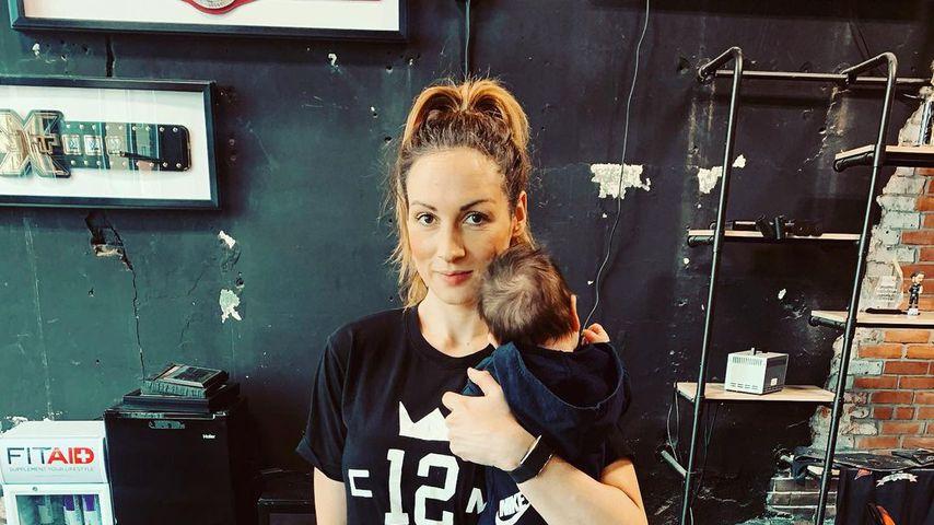 Becky Lynch mit Tochter Roux