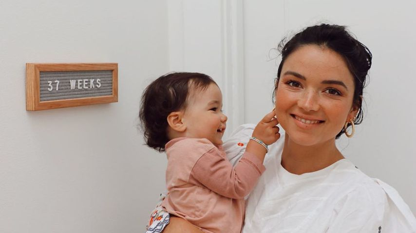 Bekah Martinez mit ihrer Tochter Ruth im Mai 2020