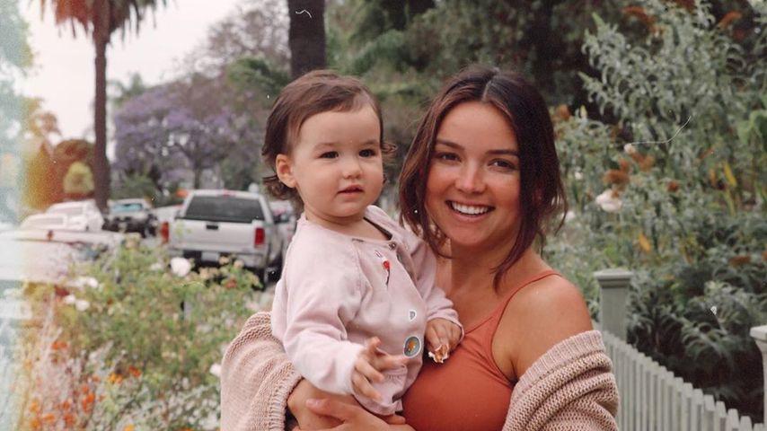 Bekah Martinez mit ihrer Tochter im Juni 2020