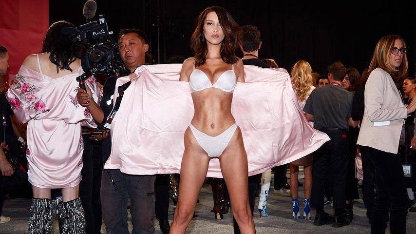 Muskeln & XS-Taille: Bella Hadid präsentiert sexy VS-Body!