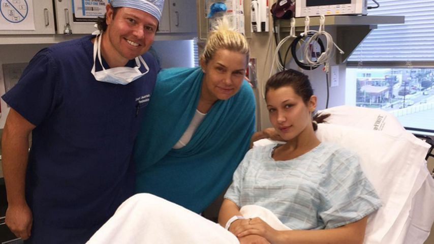 Im Krankenhaus: Sorge um Gigi Hadids Schwester Bella