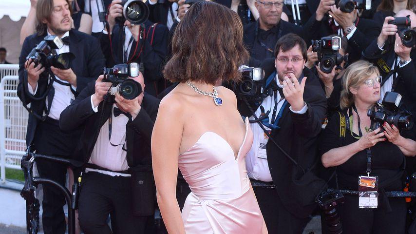 Bella Hadid bei den 70. Filmfestspielen in Cannes