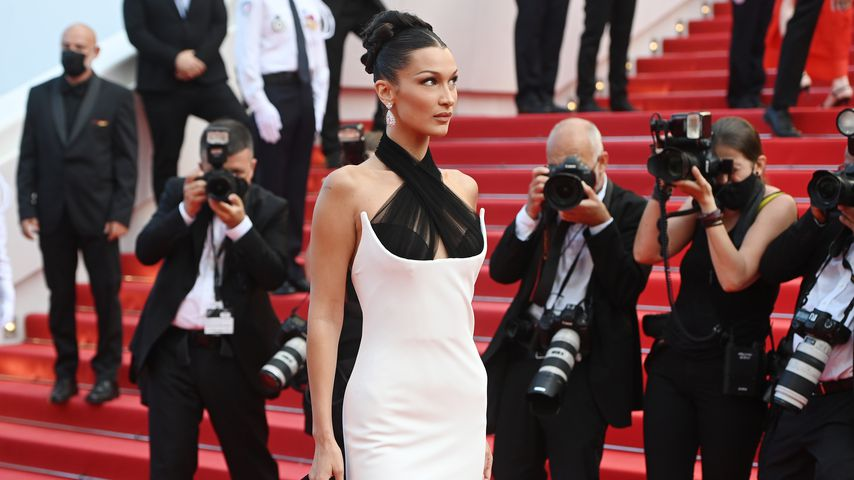 Bella Hadid in Cannes, Juli 2021