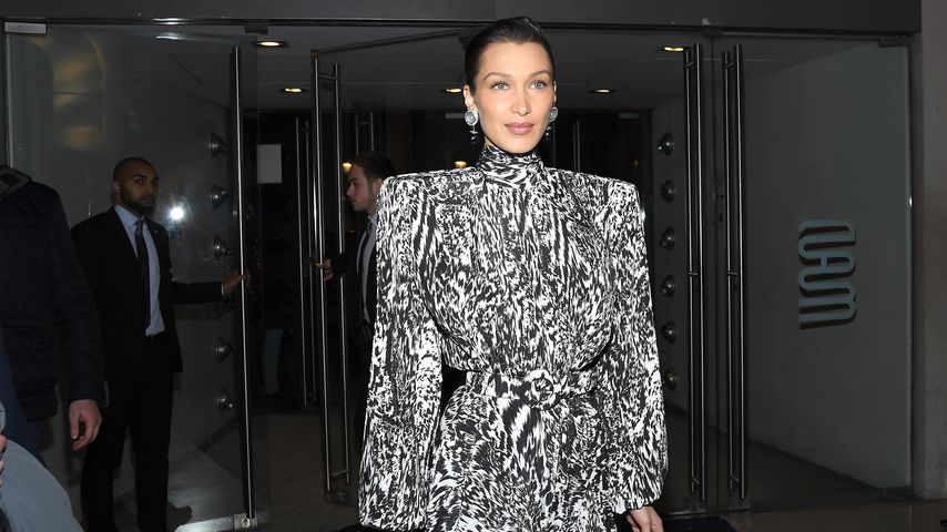 Model Bella Hadid in Paris, 2020