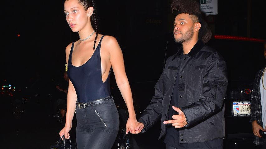 Bella Hadid und The Weekend