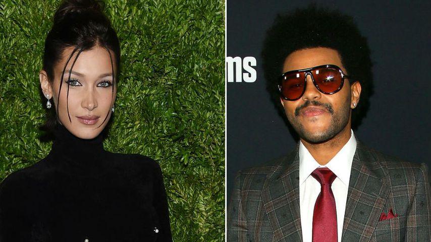 VMA-Proben: Wiedersehen von Bella Hadid und The Weeknd
