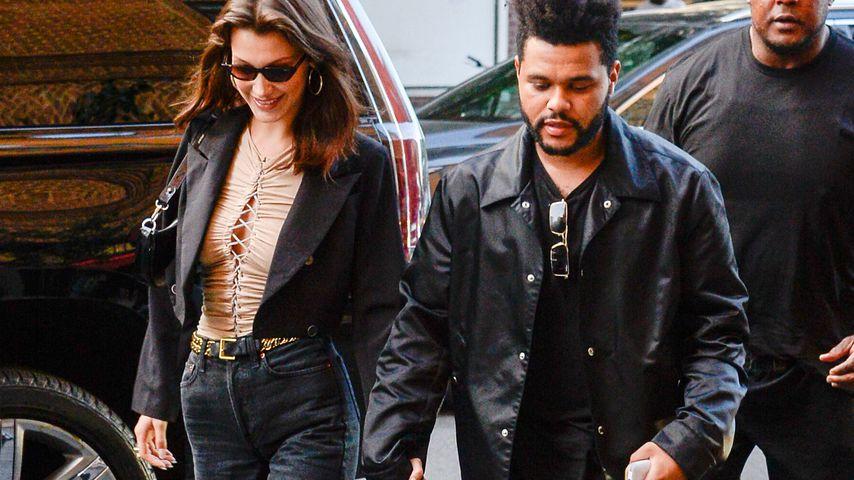 Bella Hadid und The Weeknd in New York