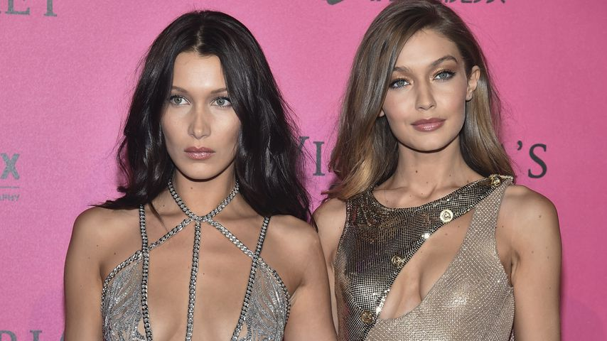 Bella und Gigi Hadid bei der Victoria's-Secret-Aftershow-Party