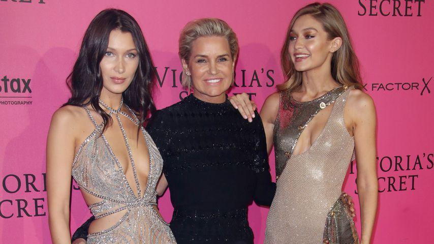 Nicht ohne Mama: Holen Gigi & Bella Hadid ihre Mum nach NY?