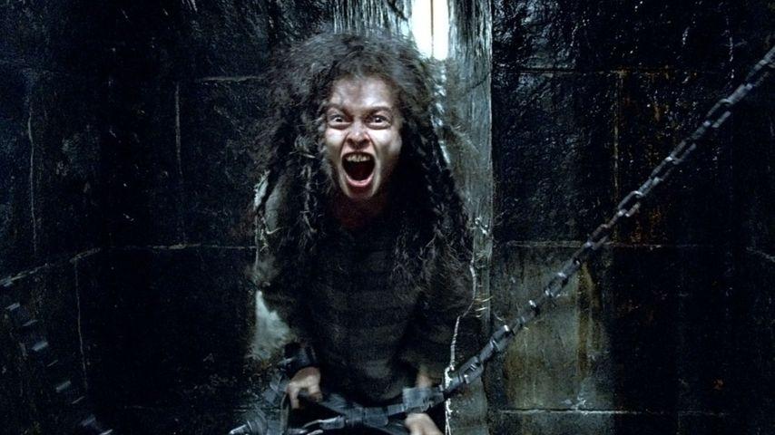 """Szene aus """"Harry Potter und der Orden des Phönix"""" mit Helena Bonham Carter als Bellatrix Lestrange"""