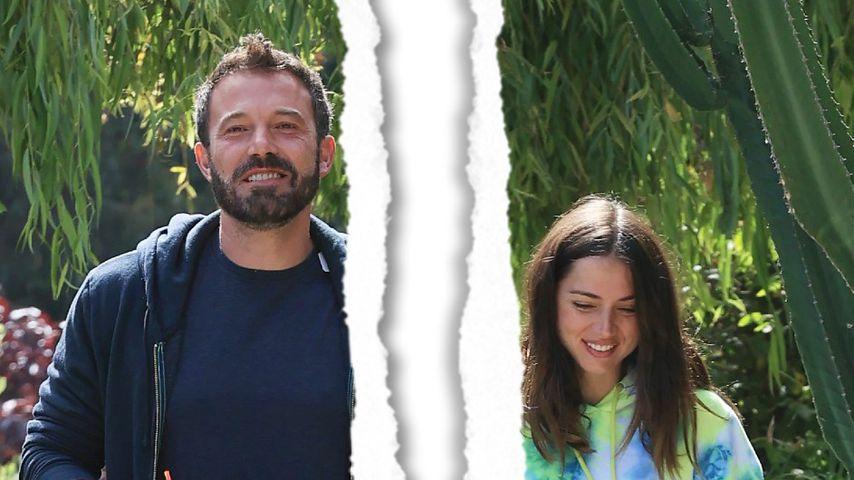 Gerade zusammengezogen: Ben Affleck und Ana sind getrennt