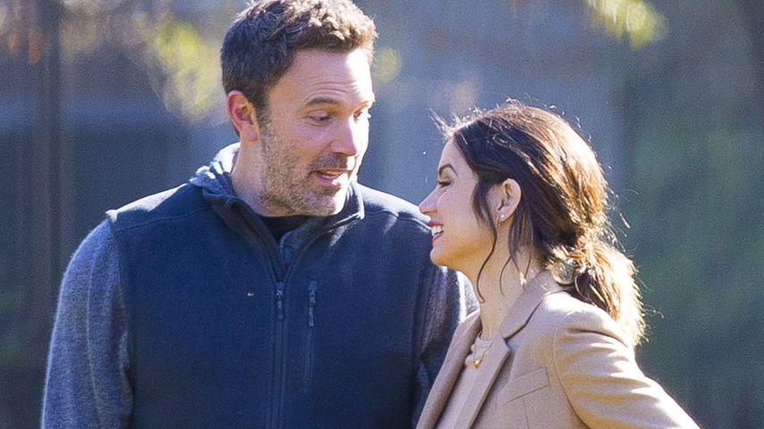 Ben Affleck und Ana möchten nach Trennung Freunde bleiben