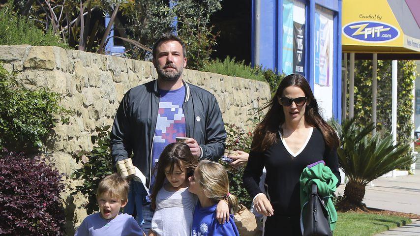 Nach Trennung: Ben & Jen gemeinsam mit Kids im Urlaub!