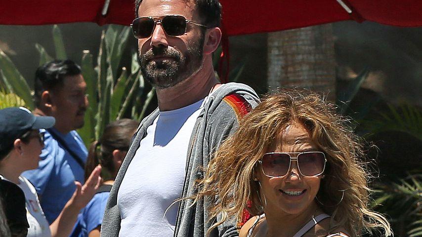 Ben Affleck und Jennifer Lopez im Juli 2021