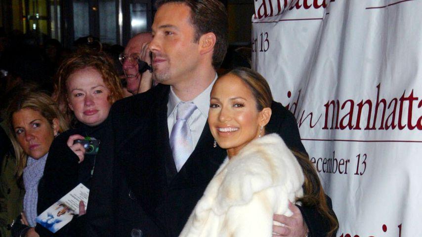 Ben Affleck und Jennifer Lopez im Jahr 2002