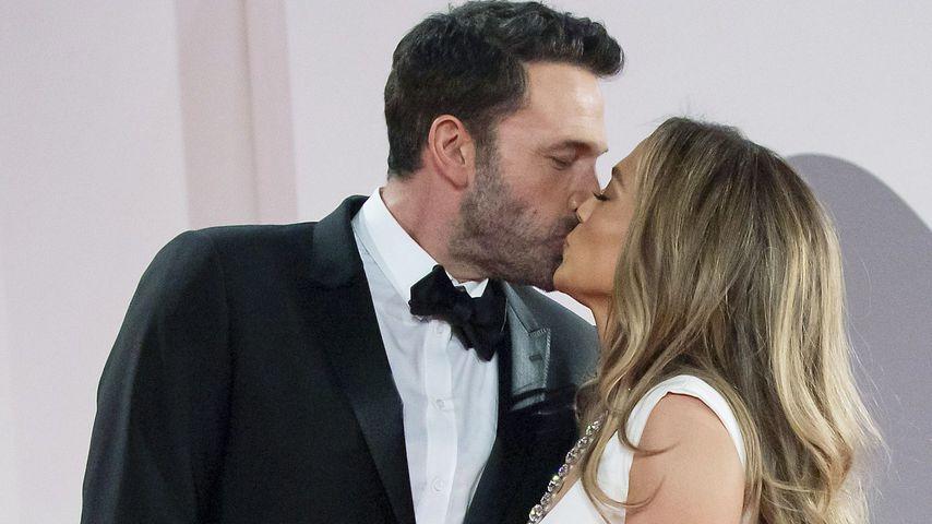 Ben Affleck und Jennifer Lopez bei den Filmfestspielen in Venedig, September 2021