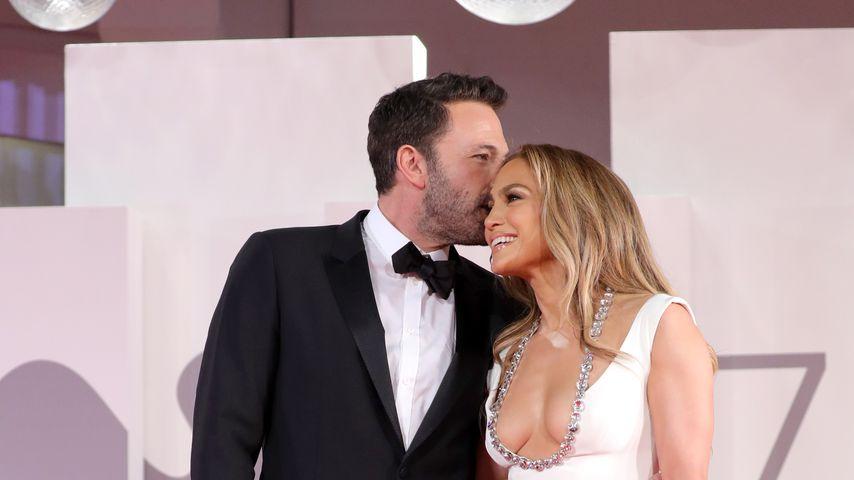 Ben Affleck und Jennifer Lopez bei den 78. Filmfestspielen von Venedig