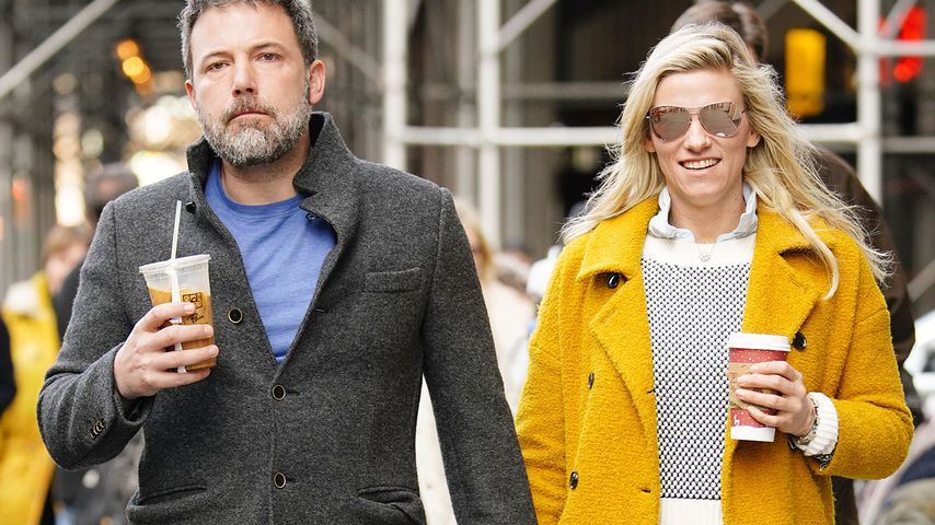 Ben Affleck und Lindsay Shookus in New York
