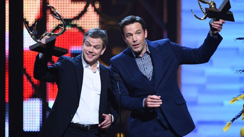 Matt Damon & Ben Affleck: Preisgekrönte Bromance!