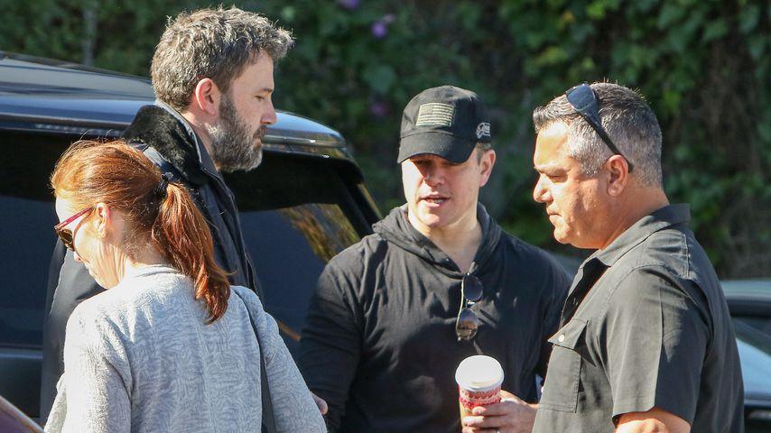 Ben Affleck und Matt Damon in Brentwood