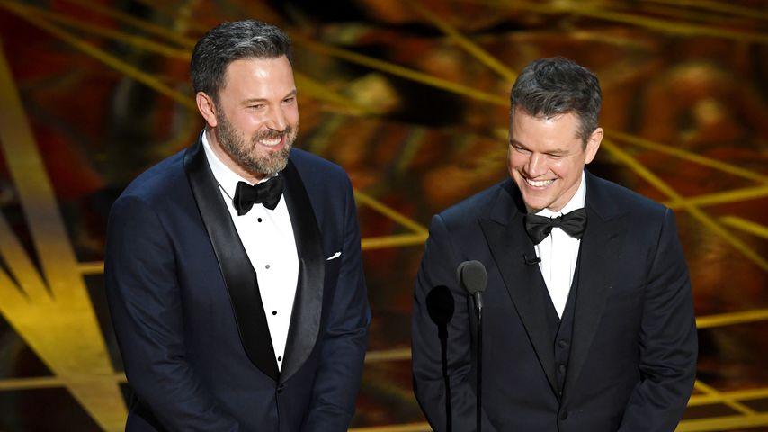 Ben Affleck und Matt Damon bei den Oscars 2017