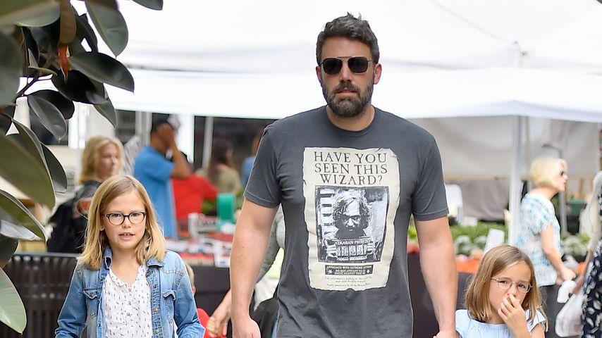 Super-Daddy: Ben Affleck mit seinen Kids bei Taylor Swift