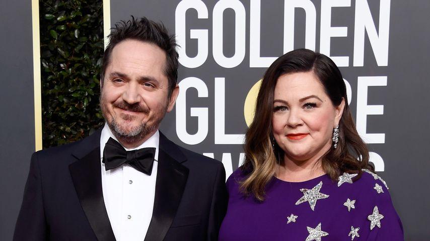 Ben Falcone und Melissa McCarthy bei den 76. Golden Globes 2019