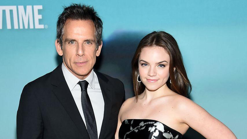 Ben Stiller und Tochter Ella, November 2018