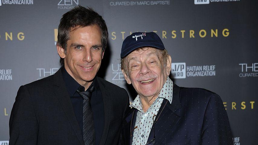 Ben und Jerry Stiller bei einer Gala in New York City