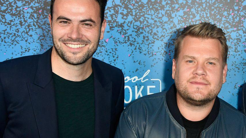 Ben Winston und James Corden bei der Apple Music Launch Party zu 'Carpool Karaoke: The Series' 2017
