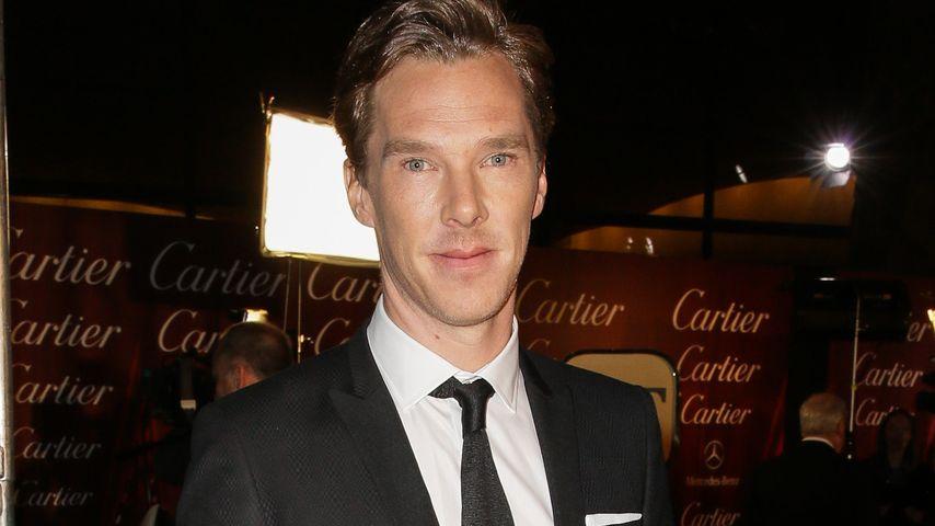 Hochzeit vorbereiten? Nicht Benedict Cumberbatch!