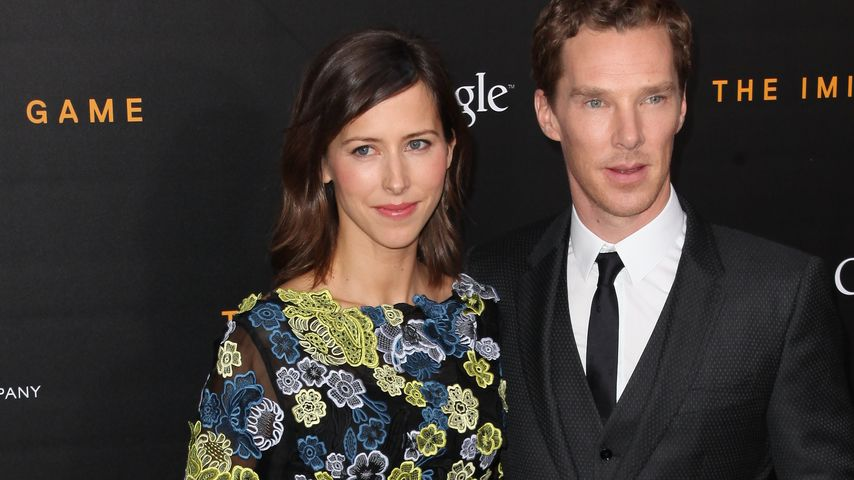 Benedict Cumberbatch und Sophie Hunter