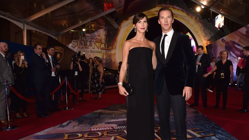 "Benedict Cumberbatch und Sophie Hunter auf der ""Doctor Strange""-Premiere in Los Angeles"