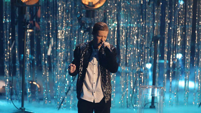 "Benjamin Dolic im Finale von ""The Voice of Germany"""