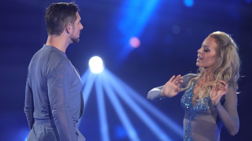 """Benjamin Piwko und Isabel Edvardsson während der fünften Show von """"Let's Dance"""""""