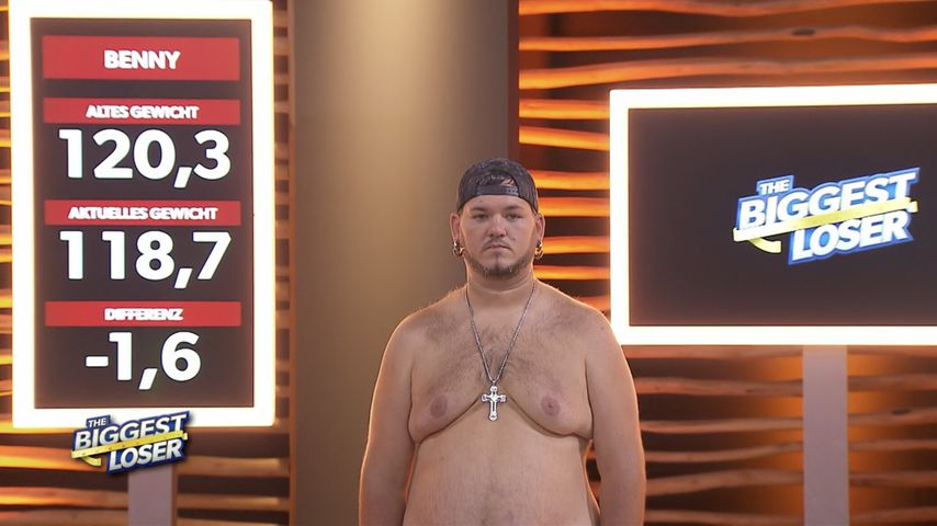 """Benny bei """"The Biggest Loser"""" 2021"""