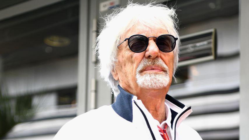 Bernie Ecclestone in Sotchi, 2018