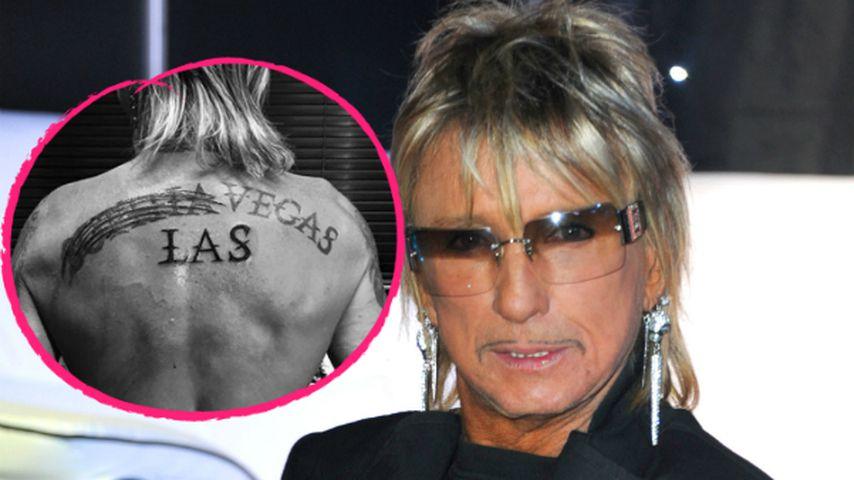 Bye-bye Sophia! Bert Wollersheim übersticht Namens-Tattoo!