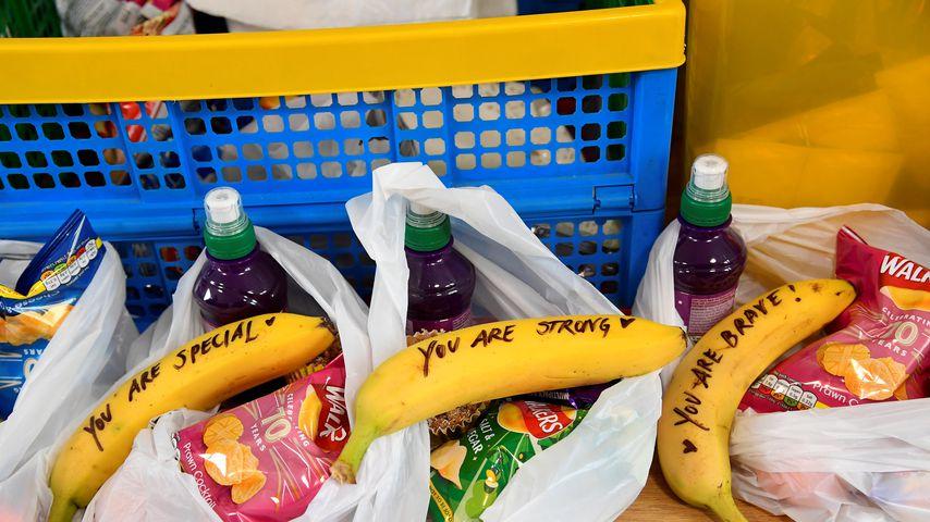 Die beschrifteten Bananen von Herzogin Meghan