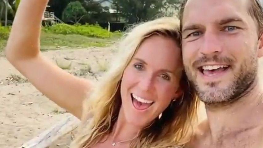 Surferin Bethany Hamilton und ihr Mann