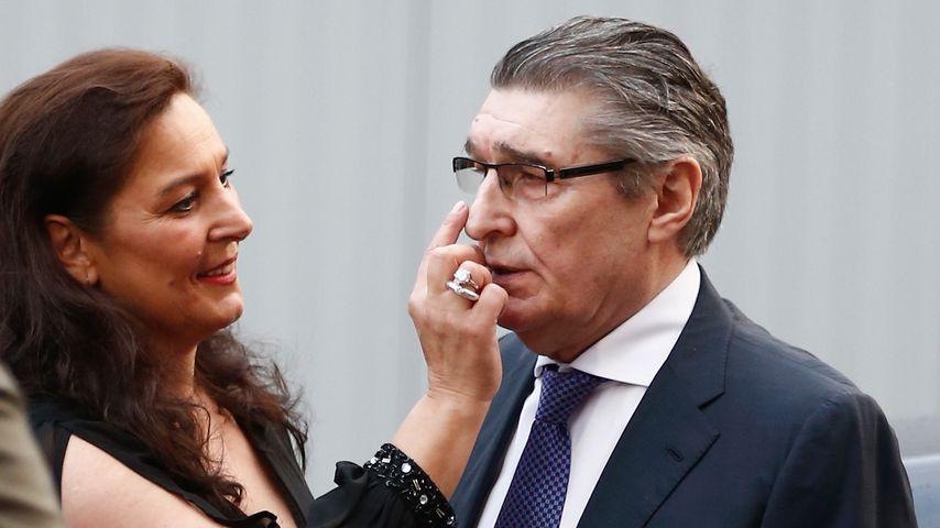 Bettina Michel und Vater Rudi Assauer