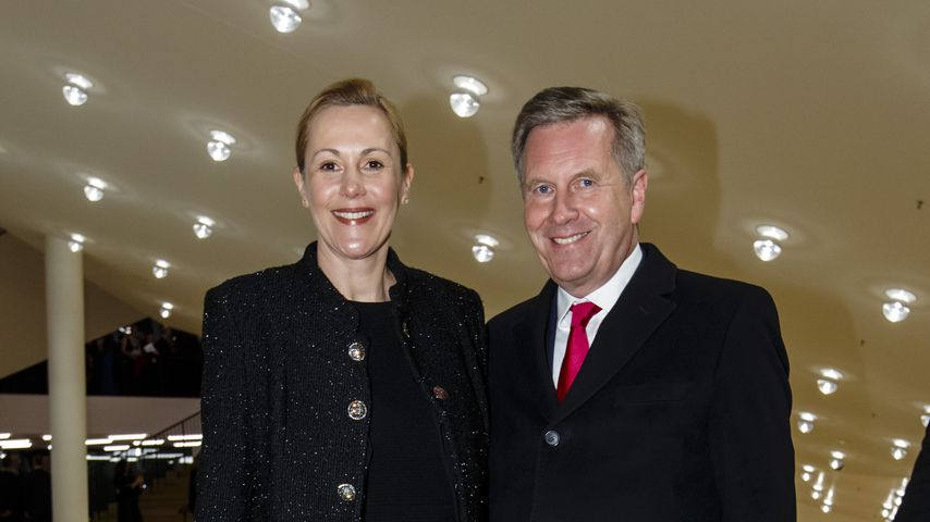 Bettina und Christian Wulff, Januar 2017