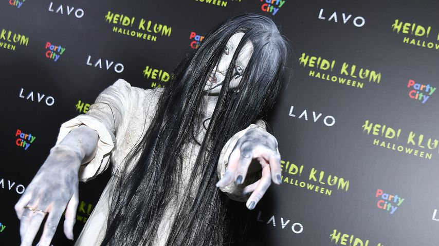 Betty Taube-Günter bei Heidi Klums Halloween-Party 2018