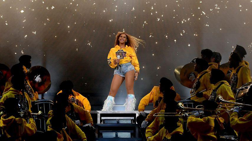 Beyoncé während ihres Auftritts bei dem Festival Coachella 2018